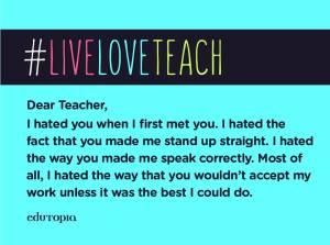 hate teach